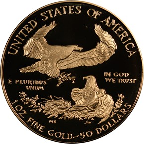 1989 W EAGLE G$50 PF reverse