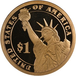 2007 S JAMES MADISON $1 PF reverse