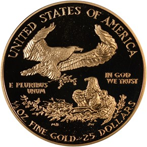 1991 P EAGLE G$25 PF reverse