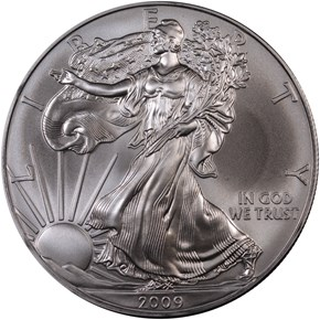 2009 EAGLE S$1 MS obverse