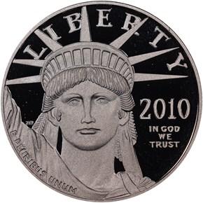 2010 W EAGLE P$100 PF obverse