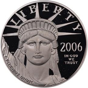 2006 W EAGLE P$100 PF obverse