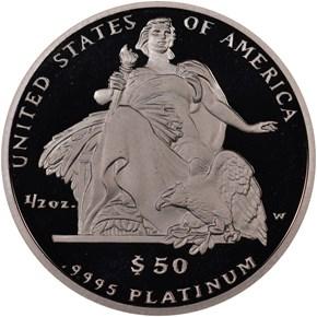 2004 W EAGLE P$50 PF reverse