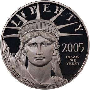 2005 W EAGLE P$50 PF obverse