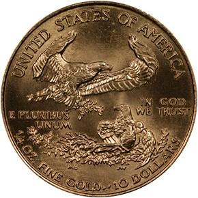 1995 EAGLE G$10 MS reverse