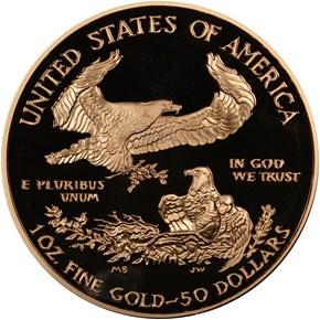 2002 W EAGLE G$50 PF reverse