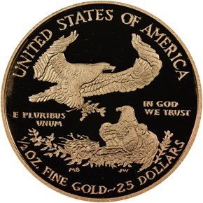 2013 W EAGLE G$25 PF reverse