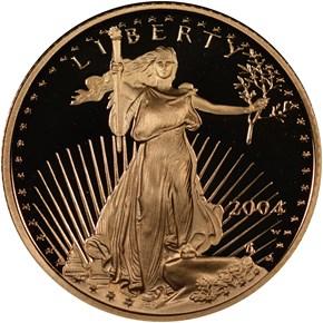 2004 W EAGLE G$5 PF obverse