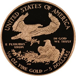 2013 W EAGLE G$5 PF reverse