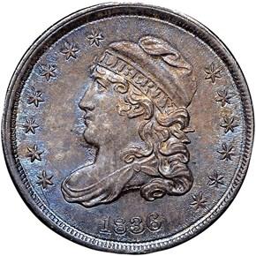 1836 H10C MS obverse