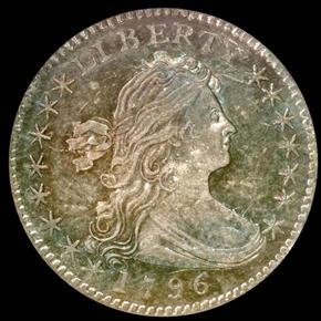 "1796 ""LIKERTY"" LM-1 H10C MS obverse"