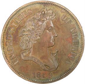 1859 J-240 50C PF obverse