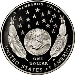 2004 P LEWIS & CLARK S$1 PF reverse