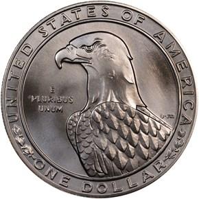 1983 D OLYMPICS S$1 MS reverse