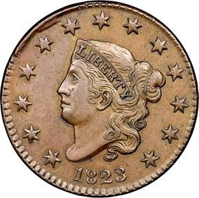 1819/8 1C MS obverse