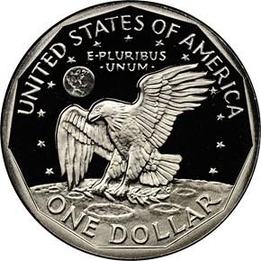 1981 S TYPE 2 $1 PF reverse
