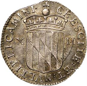 c.1659 LORD BALTIMORE MARYLAND 1S MS reverse