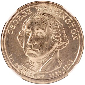 2007 D GEORGE WASHINGTON $1 MS obverse