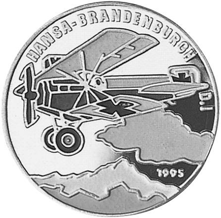 1995 Benin 1000 Francs reverse