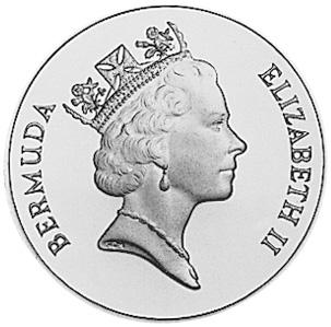 1988-1997 Bermuda Dollar obverse