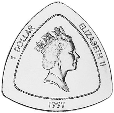 1997 Bermuda Dollar obverse
