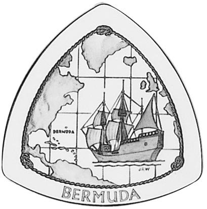 1998 Bermuda 3 Dollars reverse