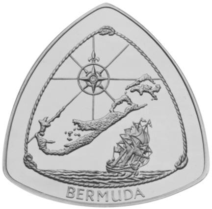 1996 Bermuda 60 Dollars reverse