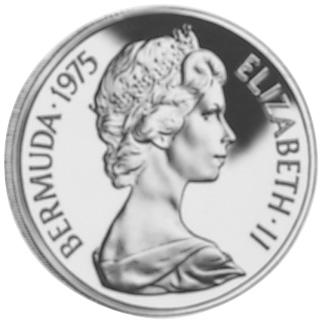 1975 Bermuda 100 Dollars obverse