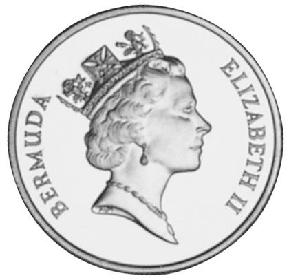 1990 Bermuda 100 Dollars obverse