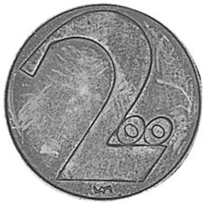 1924 Austria 200 Kronen reverse