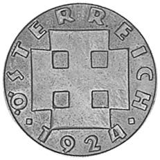 1924 Austria 200 Kronen obverse