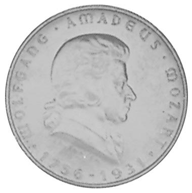 1931 Austria 2 Schilling reverse