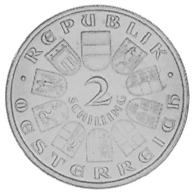 1931 Austria 2 Schilling obverse