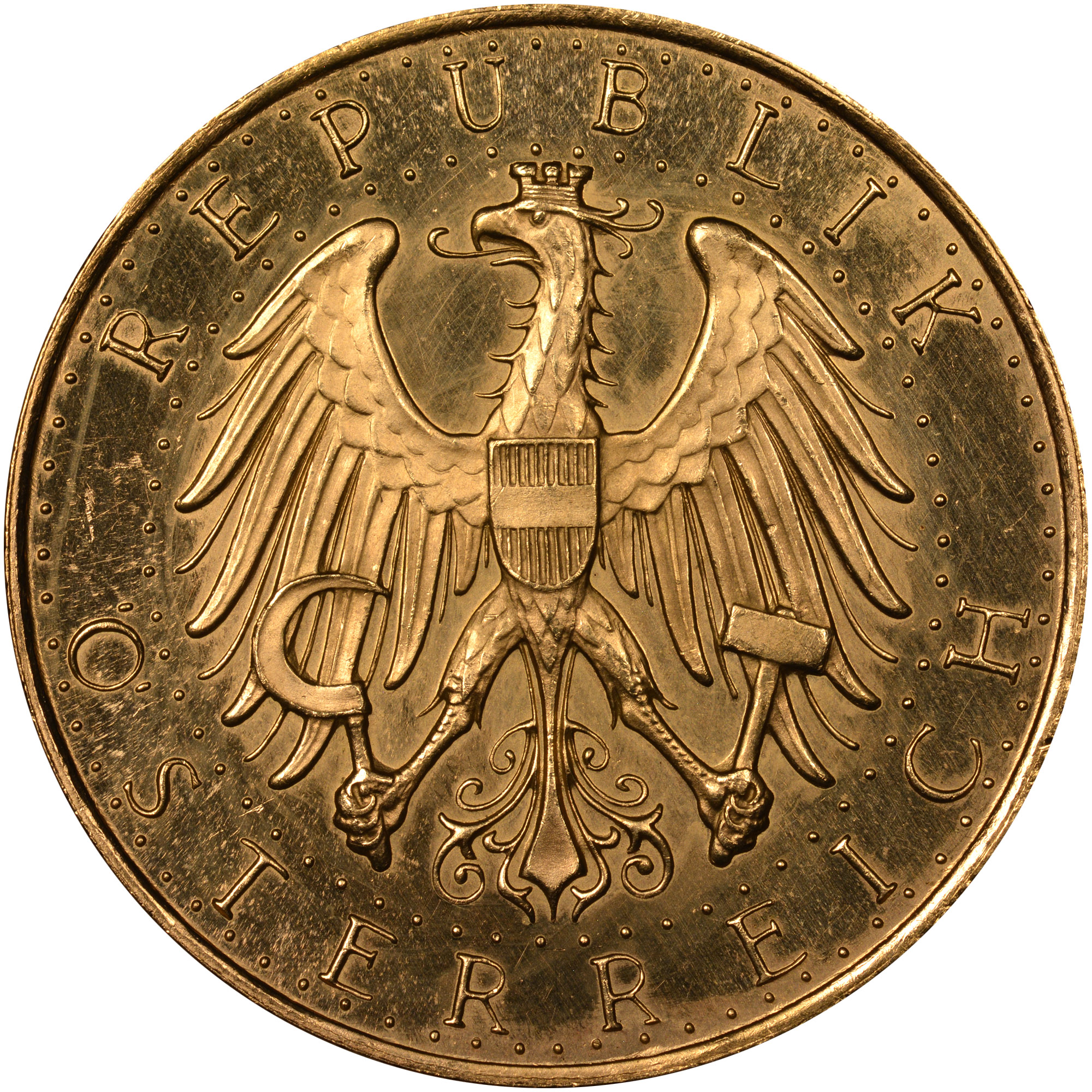 1926-1934 Austria 100 Schilling obverse