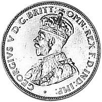 1911-1936 Australia 1/2 Penny obverse