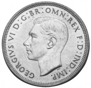 1939-1948 Australia 1/2 Penny obverse