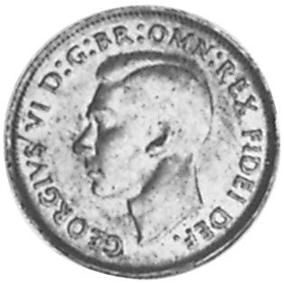 1949-1952 Australia 1/2 Penny obverse