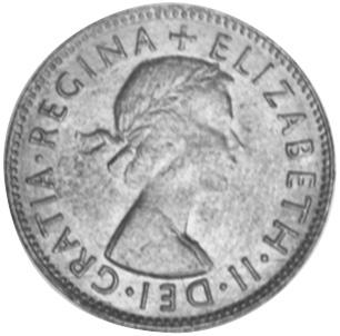 1953-1955 Australia 1/2 Penny obverse