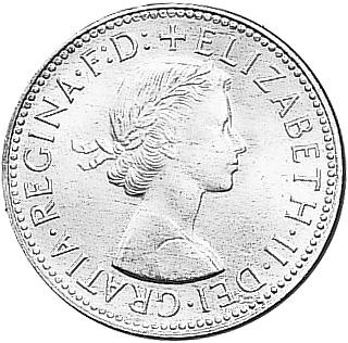 1959-1964 Australia 1/2 Penny obverse