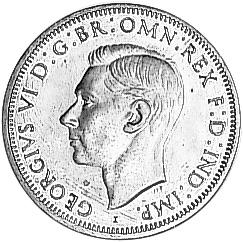 1938-1948 Australia Penny obverse