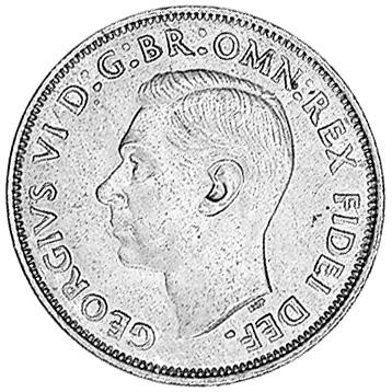 1949-1952 Australia Penny obverse