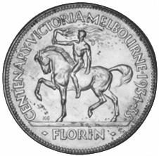 (1934) Australia Florin reverse