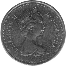1978-1979 Canada Cent obverse