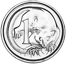 1966-1984 Australia Cent reverse
