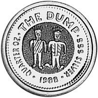 1988 Australia 25 Cents reverse