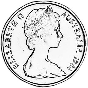 1984 Australia Dollar obverse