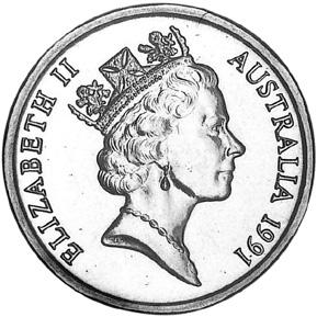 1985-1998 Australia Dollar obverse