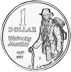1995 Australia Dollar reverse
