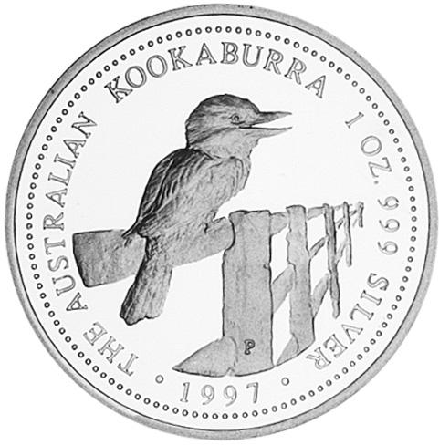 1997-1998 (1997) Australia Dollar reverse
