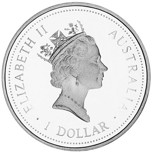 1997-1998 (1997) Australia Dollar obverse